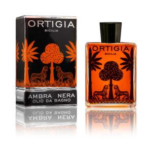Ortigia Ambra Nera fürdőolaj