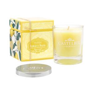 Castelbel citrom és zsálya illatgyertya