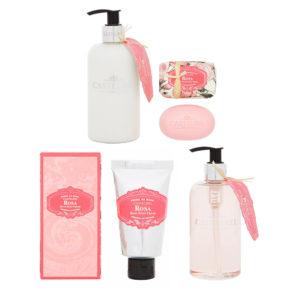 Castelbel rózsa testápolás ajándékcsomag