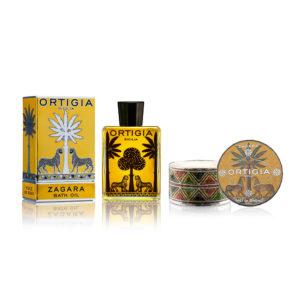Ortigia Zagara ajándékcsomag a fürdőszobába