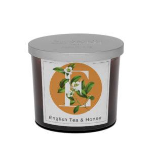 Pernici angol tea és méz illatgyertya