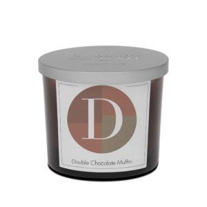 Pernici dupla csokoládés muffin illatgyertya