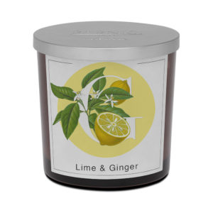 Pernici lime ginger big scented candle