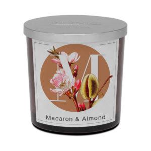 Pernici nagy macaron és mandula illatgyertya