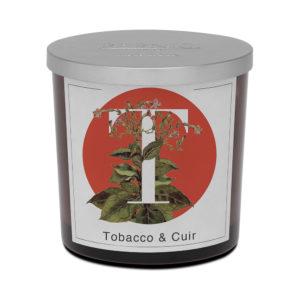 Pernici nagy tabak és bőr illatgyertya