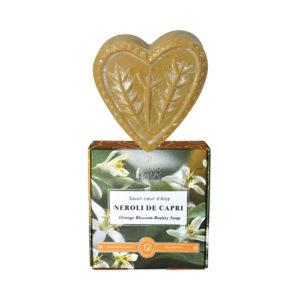 Tade Neroli de Capri aleppo heart soap
