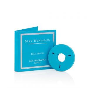 7scents Max Benjamin Blue Azure autó illatosító utántöltő