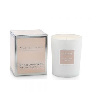 7scents Max Benjamin French Linen Water illatgyertya