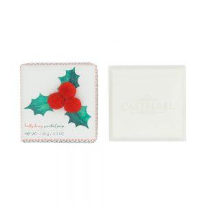 7scents Castelbel Pom pom karácsonyi magyal szappan