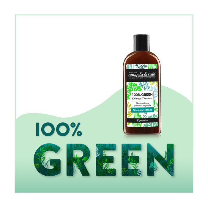 Vegán sampon Nuggela& Sulé 100% Zöld